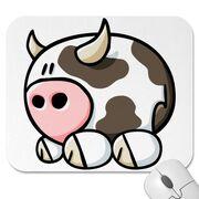 Cartoon cow mousepad-p144041472044041134trak 400