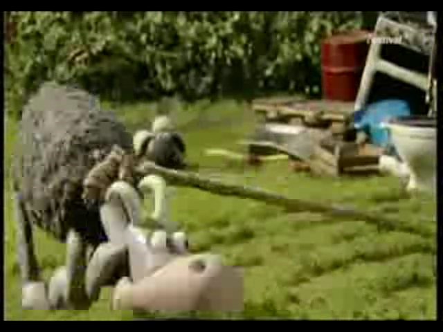 Die Rasenmäher Ziege Shaun Das Schaf Wiki Fandom Powered By Wikia
