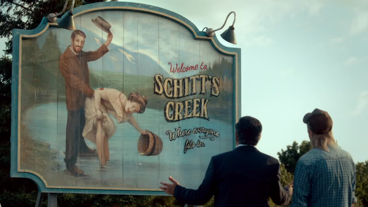 Image result for schitt's creek sign