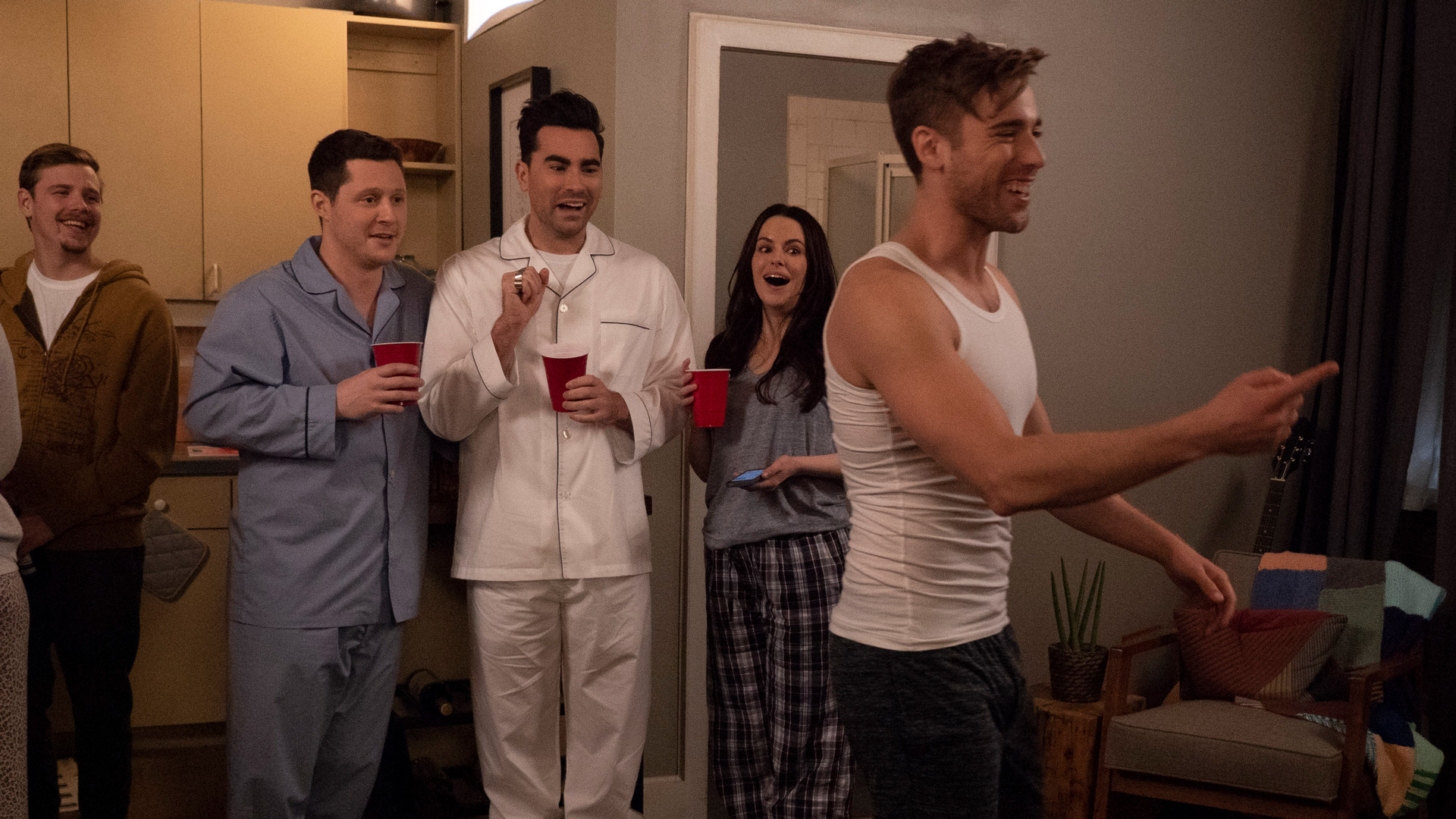 Patrick's Housewarming Party   Schitt's Creek Wiki   Fandom
