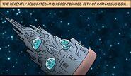 Space City of Parnassus Dom