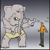 Neophant (Size Comparison)