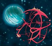 Pa'anuri Warship (Teraporting in next Urothi - Dark Matter Not Visualble)
