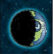 Schlock Mercenary - Planet Orthlin (art by Howard Tayler)