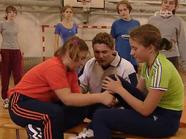 Sportunterricht Jasmin Steffi 24