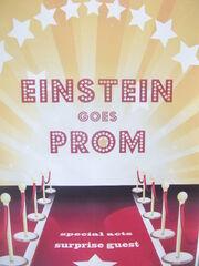 Plakat Einstein goes Prom