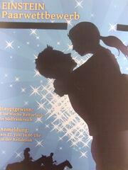 Plakat Einsteins Paarwettbewerb