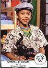 Dennis Makeba - Autogrammkarte