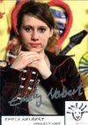 Manuela Vogt - Autogrammkarte