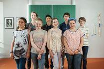 10-Roxy, 11-Pipi, 12-Hubertus, 13-Jonny, 14-Daphne, 15-Adrian, 16-Serena, 17-Miriam, 18-David, Block 198, Drehtag 189, Schloss Einstein-7