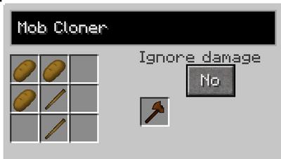Npc cloner recipe