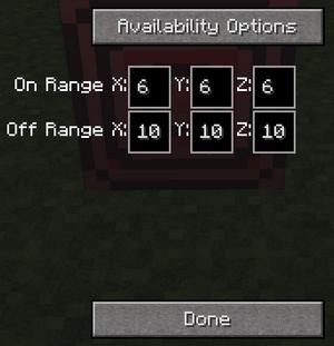 Redstone block menu 1