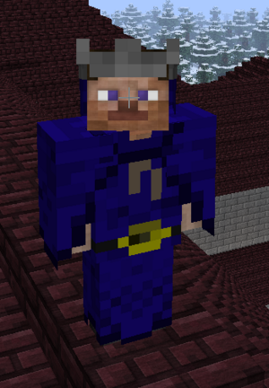 Wizard armor front