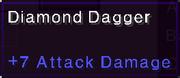 Diamond dagger stats