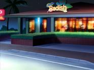 Radish Outside Night