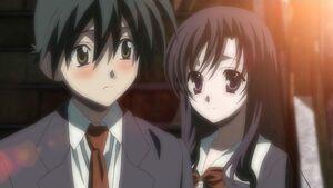 Makoto and aggresive kotonoha
