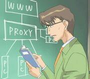 Kunihiro in PureMail anime
