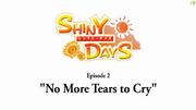ShinyDaysEPNoMoreTearsToCry