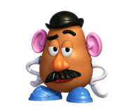 Mr. Potato Head Render