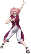 Sakura uchiha boruto naruto the movie png by esteban 93-d9qnh00
