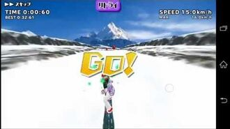 Schoolgirl Strikers - Snowboarding Gameplay