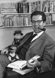 Michael Ende by Christine Meile 1962
