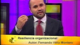 Tiempo de Leer Fernando Véliz Montero presentó 'Resiliencia organizacional'