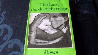 """Buchvorstellung """"Die Last, die du nicht trägst"""" von Roswitha Geppert"""