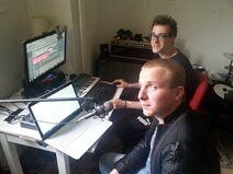 Rub & Rav studio opname