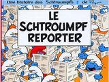 N°22 Le Schtroumpf reporter