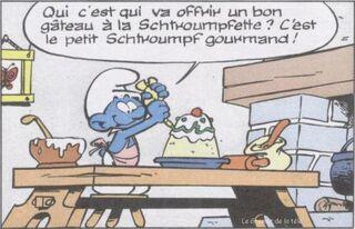 Schtroumpf-gourmand
