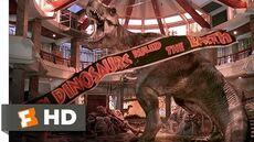 Jurassic Park (10 10) Movie CLIP - T-Rex vs