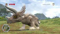 Jurassic World Lego Triceratops