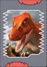 Dinosaur King card 01