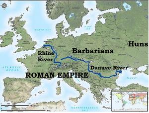 Maps-Rivers-Danuve-Rhine-Roman-goog