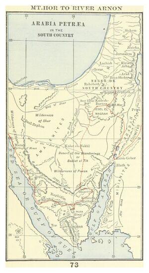 Maps-Arabia-Petraea-01-goog
