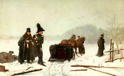 Pushkin's duel with d'Anthes, atrist A. Naumov 1884