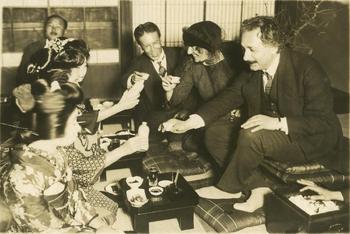 Einstein in Japan, 1922