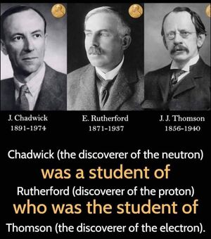 Physicists-Chadwick-Rutherford-Thomson-goog