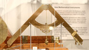 Galileo's geometrical and military compass in Putnam Gallery, 2009-11-24