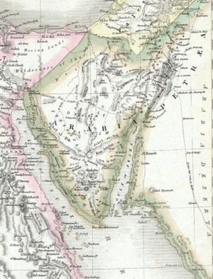 Maps-Arabia-Petraea-02-goog