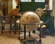 Tito Lessi - Galileo and Viviani