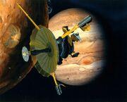 Artwork Galileo-Io-Jupiter