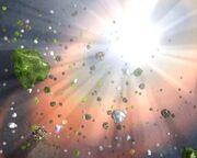 Фаэтон-образование Луны и пояса астероидов