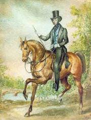 Pushkin Alexander, 1831 by Sokolov P.