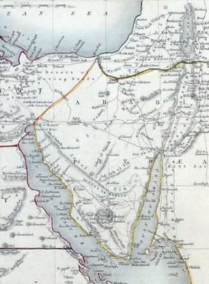 Maps-Arabia-Petraea-03-goog