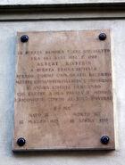 8839 - Milano - Via Bigli - Palazzo Olivazzi - Lapide Albert Einstein - Foto Giovanni Dall'Orto - 14-Apr-2007