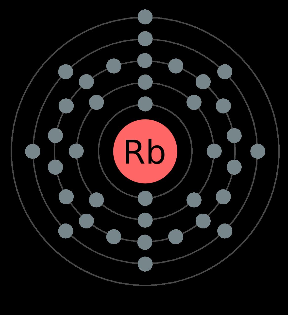rubidium open science wiki fandom powered by wikia helium lewis diagram