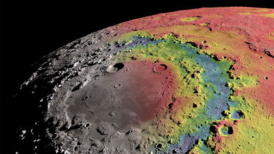 10 Lunar crater