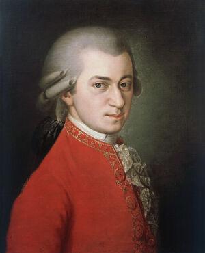 Barbara Krafft - Porträt Wolfgang Amadeus Mozart (1819)